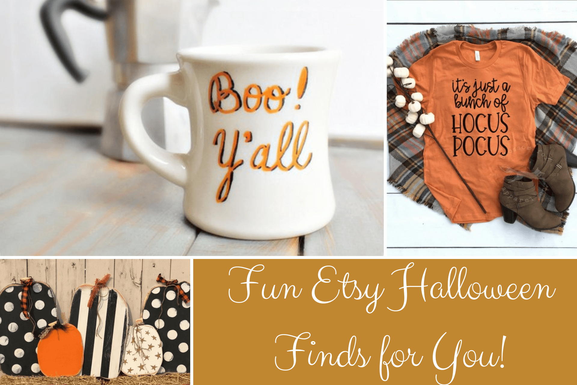 Fun Etsy Halloween Finds for YOU!