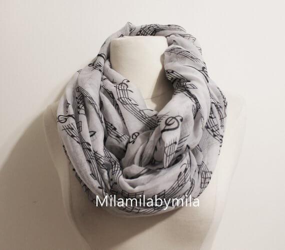 music scarf