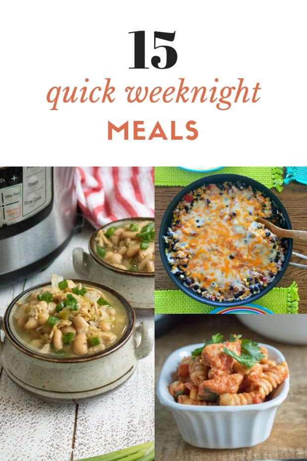15 Quick Weeknight Meals