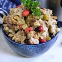 Cranberry Stuffing in the Instant Pot