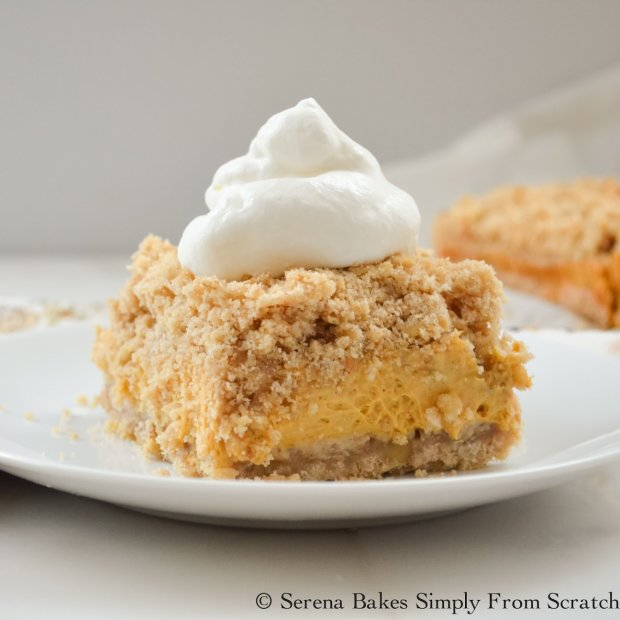 Pumpkin Cheesecake Crumb Bars (1 of 1)