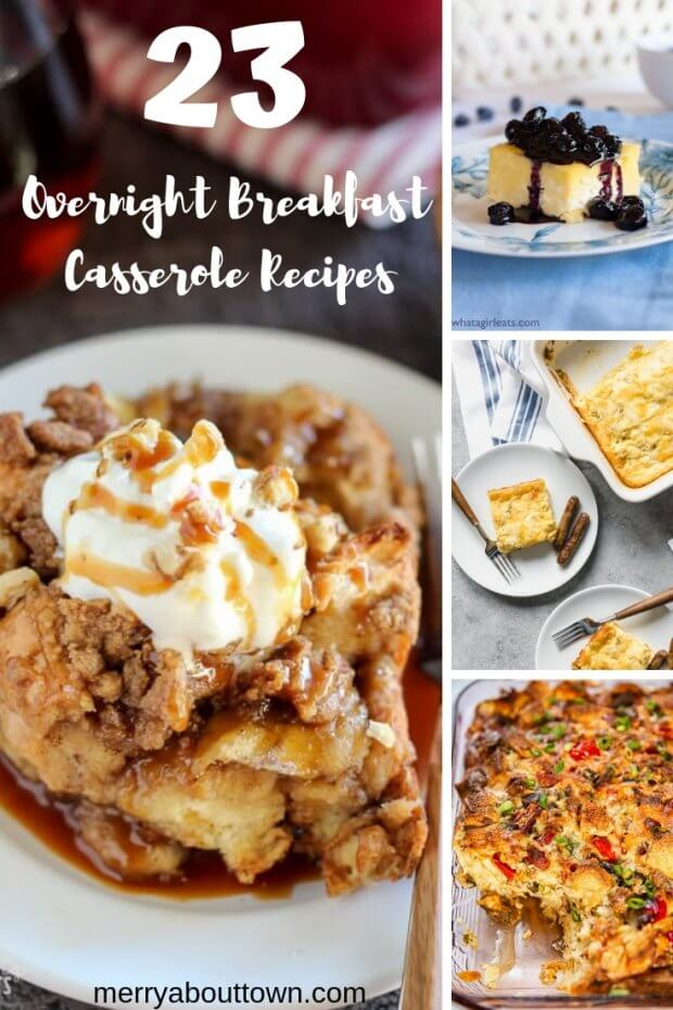 23 Overnight Breafast Casserole Recipes
