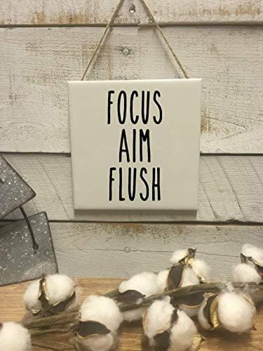 Focus aim flush sign