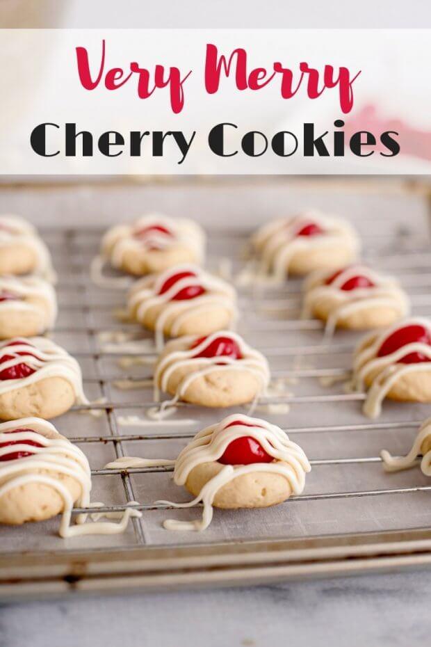 Very Merry Cherry Cookies