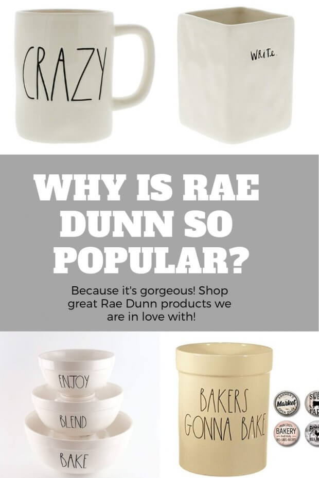 Why Is Rae Dunn So Popular Because Its Gorgeous Merry About Town