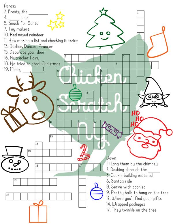 wholeChristmas-Crossword201
