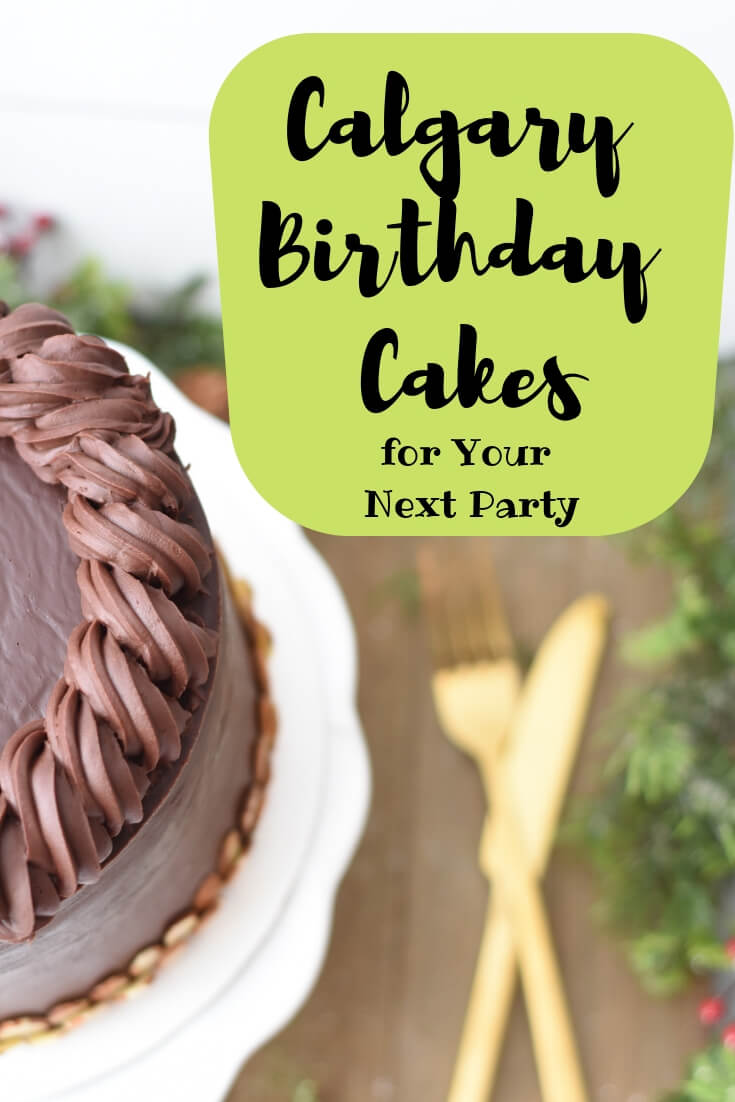 Calgary Birthday Cakes for Your Next Party