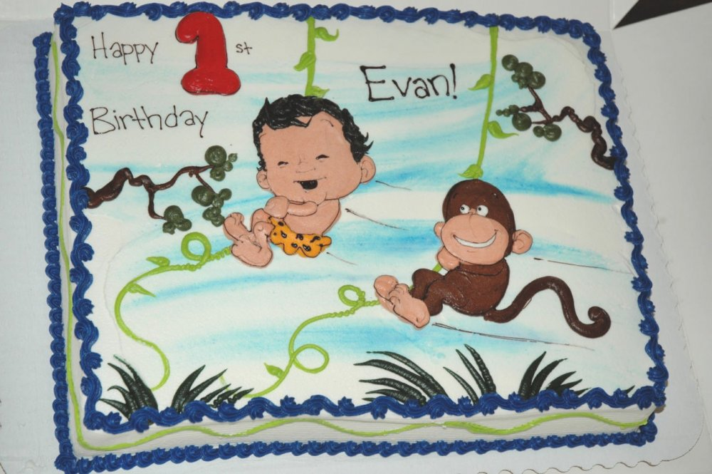 Evan's cake from Cakeworks