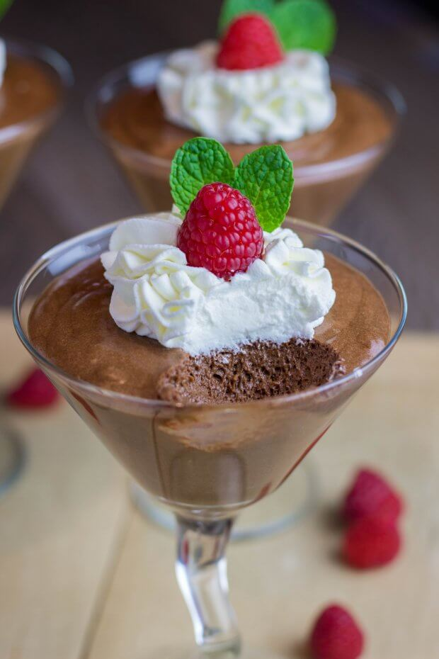 Julia Child's Chocolate Mousse