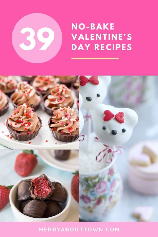 No-Bake Valentine's Day Recipes