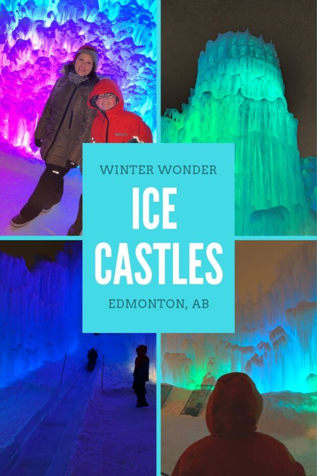 Winter Wonder at Ice Castles Edmonton