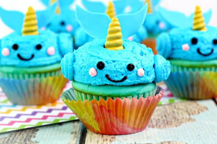Adorable Narwhal Cupcakes Recipe