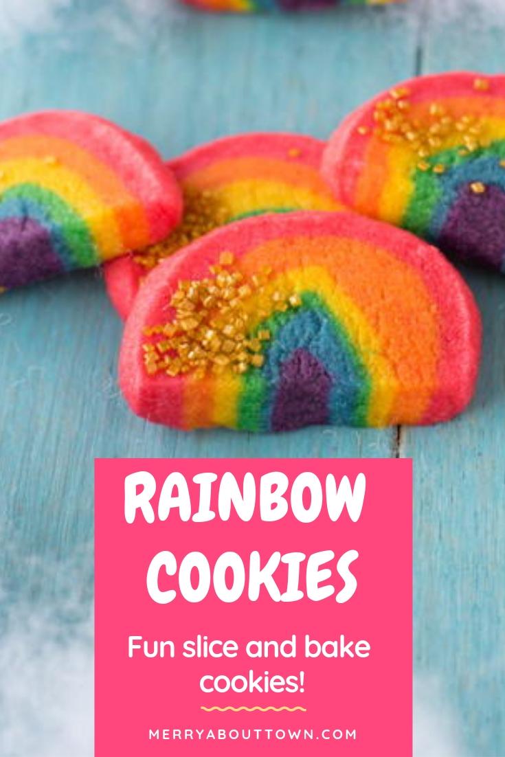 Rainbow Cookie Recipe