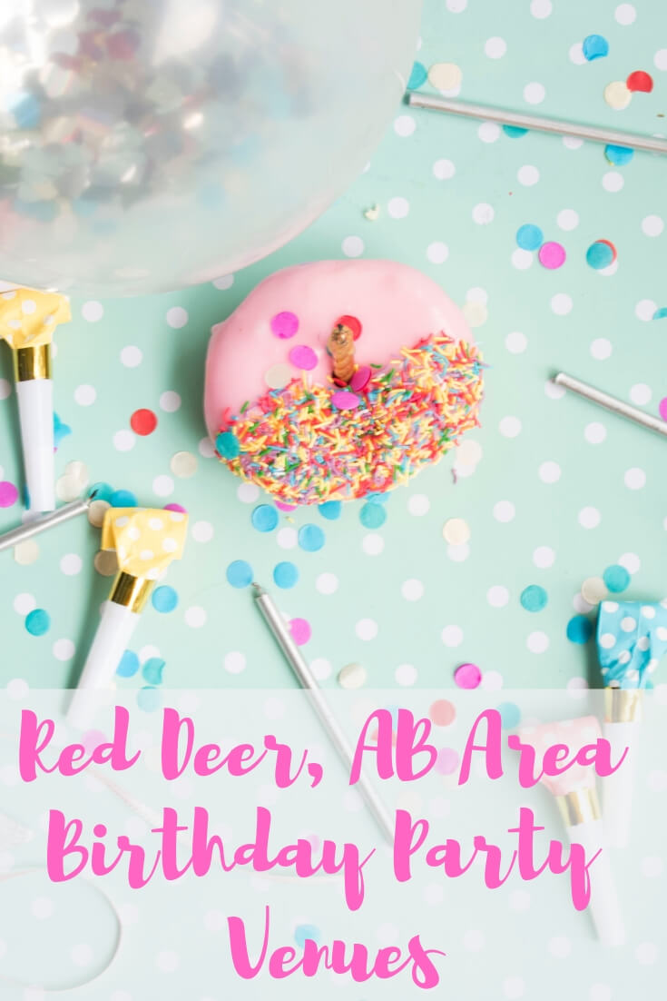 Red Deer, AB Birthday Party Venues (and Area)