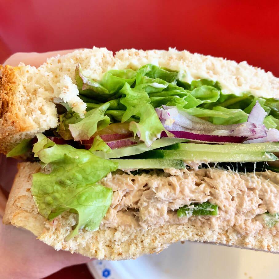 Tuna Salad at Eastside Eatery