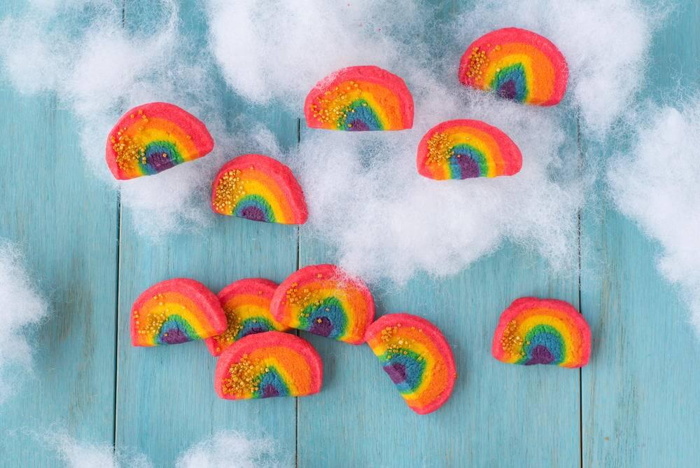 Adorable Rainbow Cookie Recipe