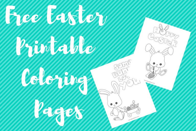 Free Easter Printable Coloring Pages (2)