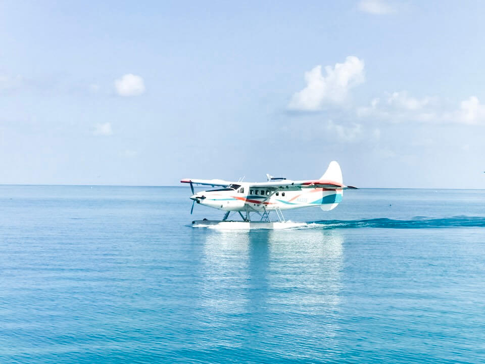 Sea plane on Stock Island