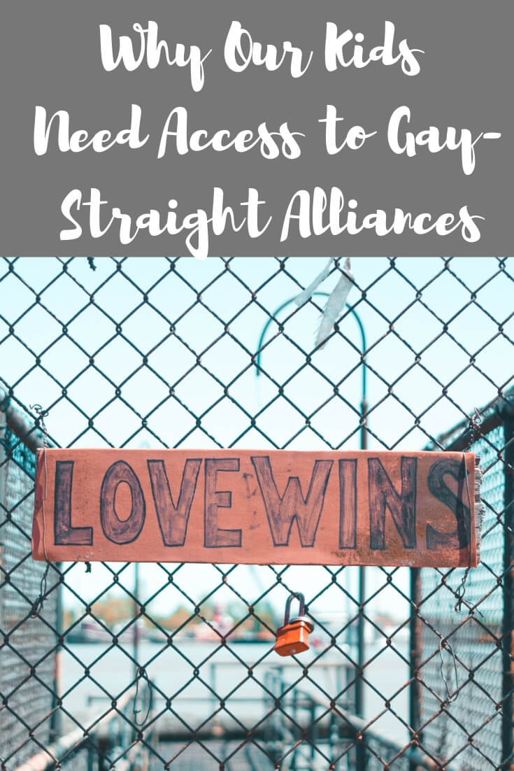 Why Our Kids Need Gay-Straight Alliances