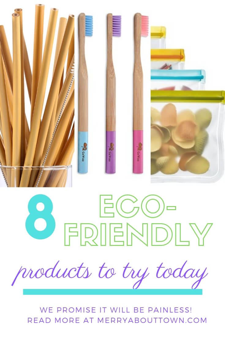 8 Eco-Friendly Products to Try Today around the house. It's painless, we promise!