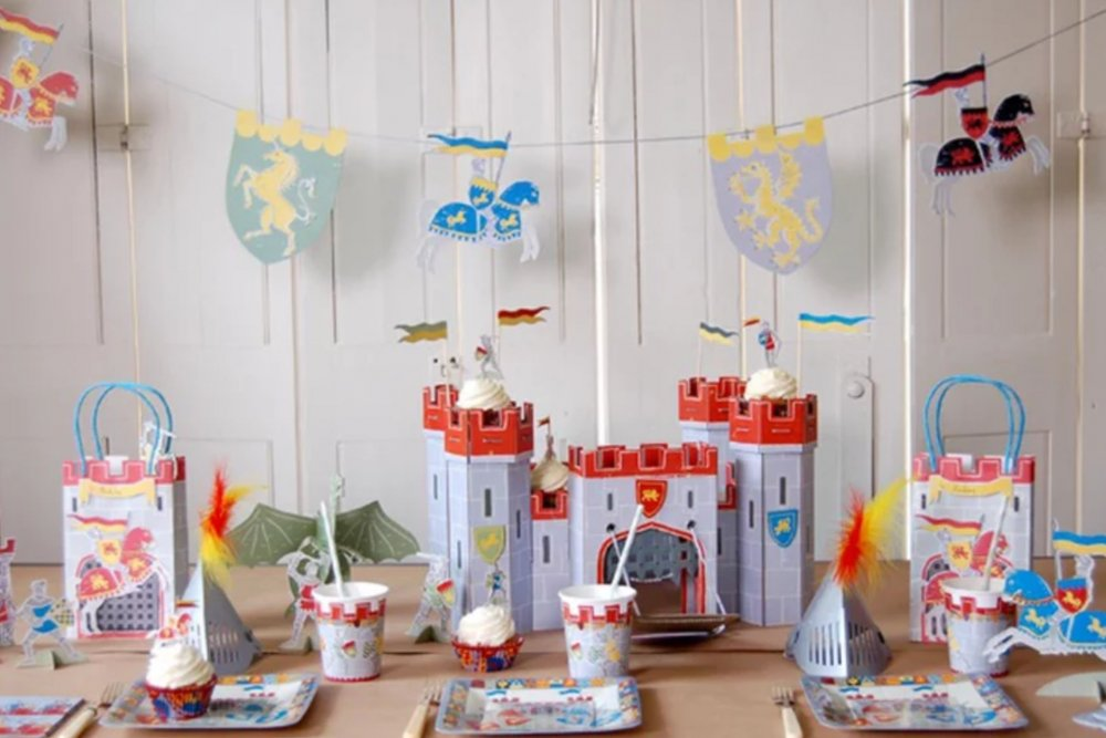 Brave Knight Children's Party