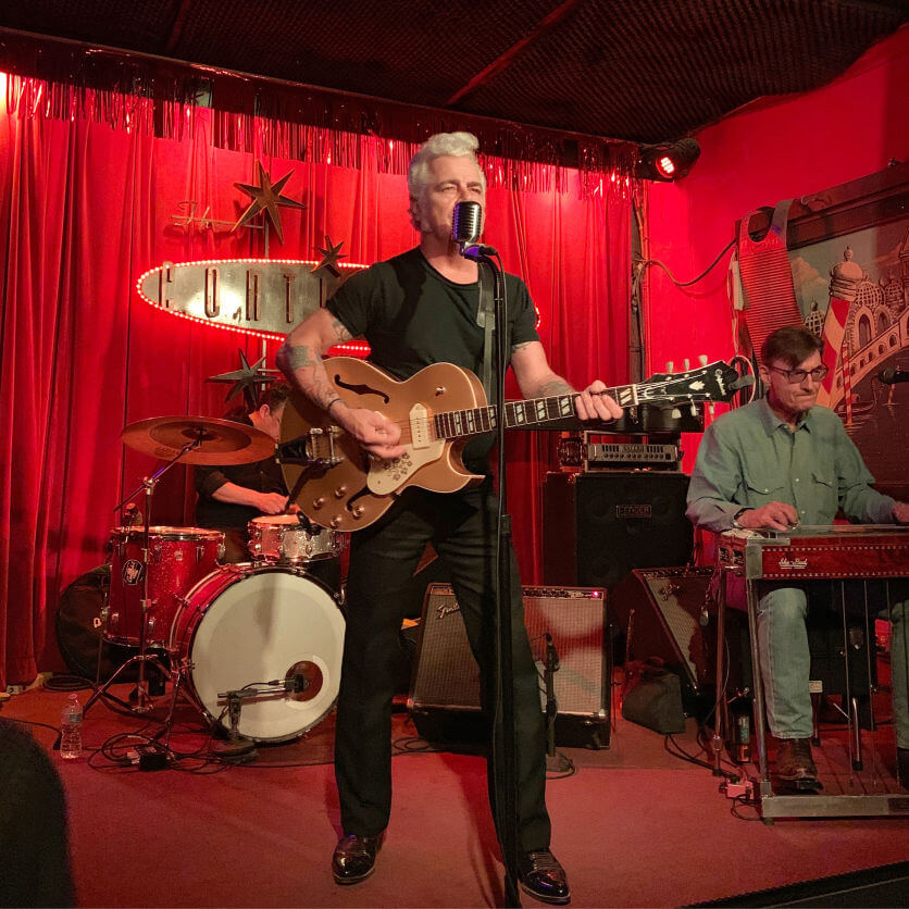 Dale Watson at the Continental Club in Austin Texas