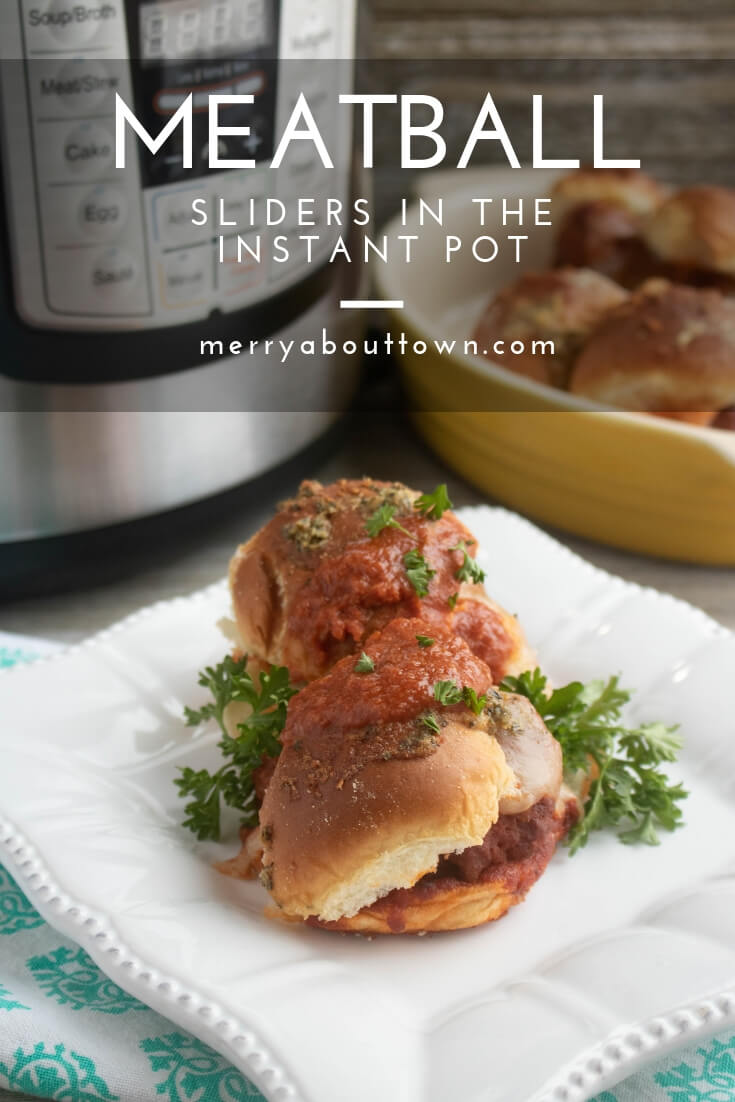 Instant Pot Meatball Sliders
