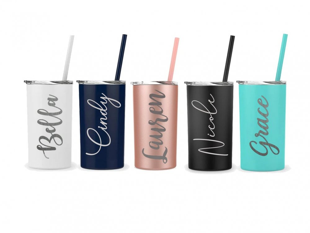 unique gifts for mom - customized stainless steel tumbler