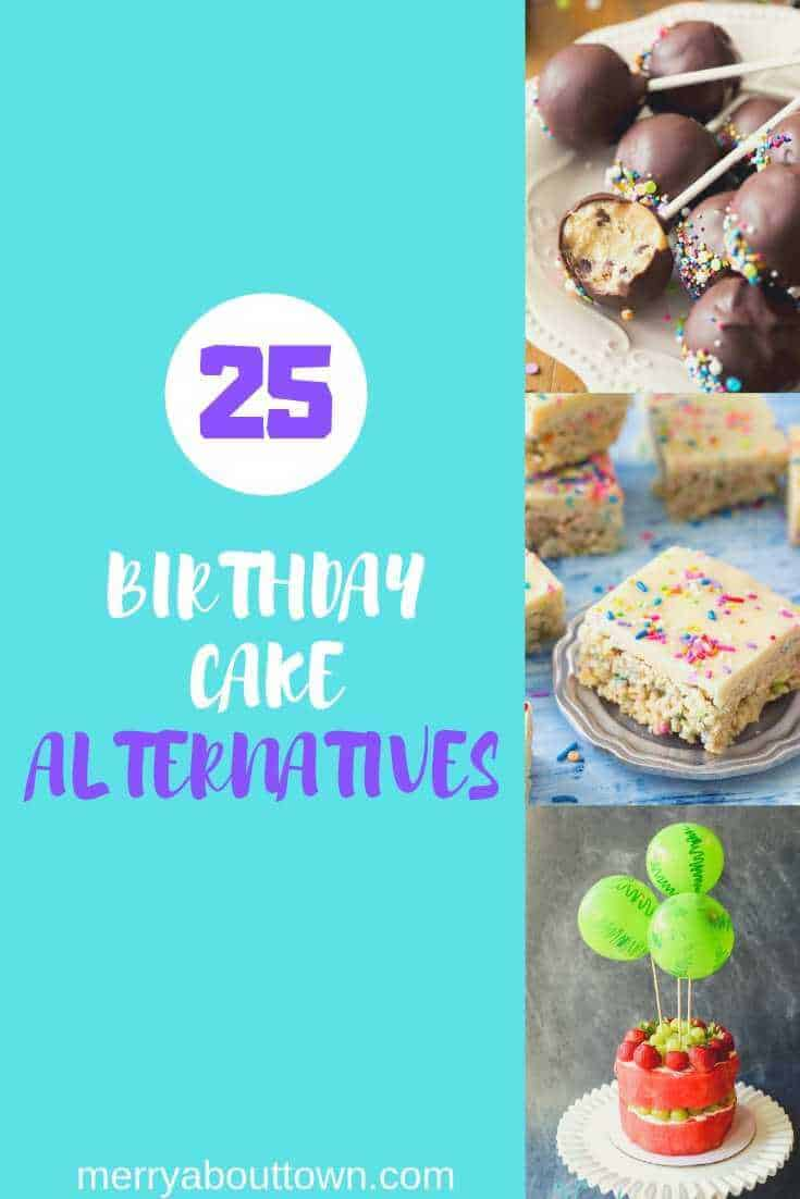 25 Birthday Party Cake Alternatives