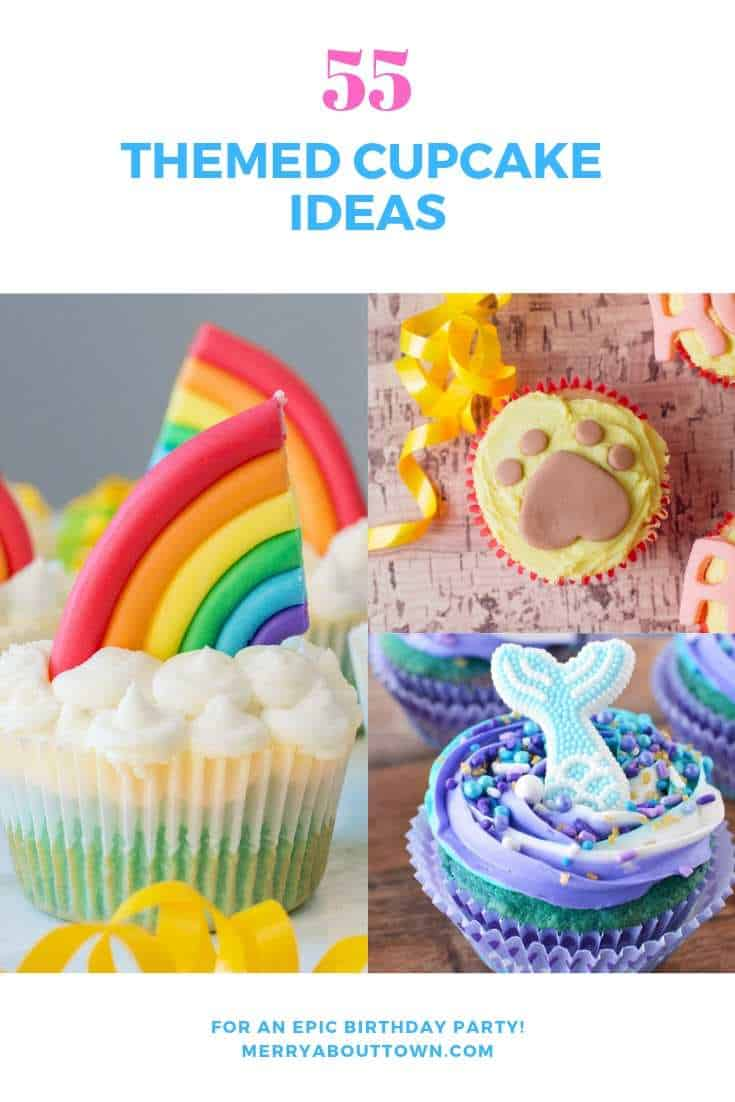 55 Themed Cupcake Ideas