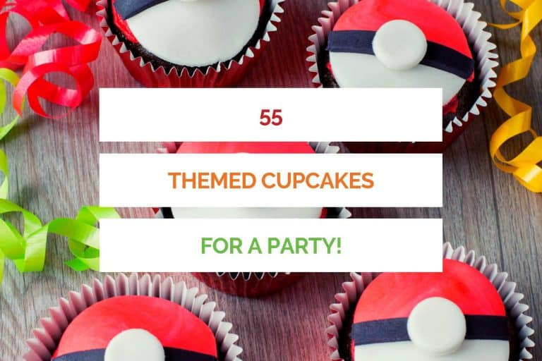 55 Themed Cupcakes