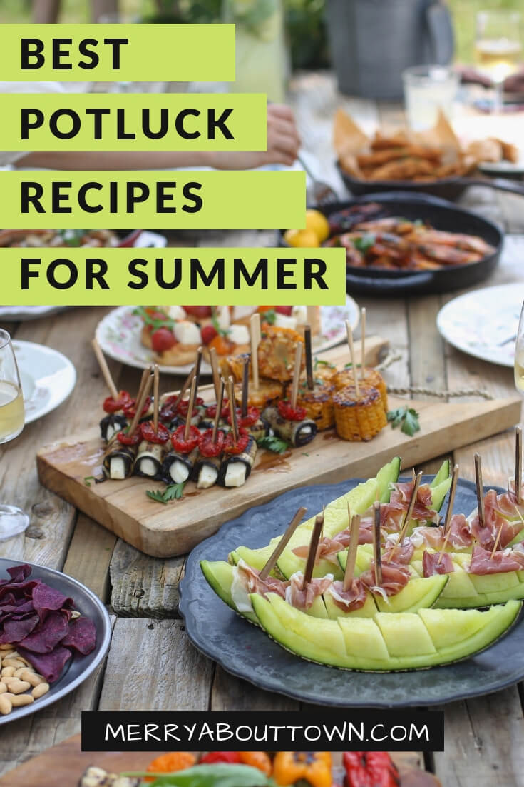 Best Potluck Recipes for Summer