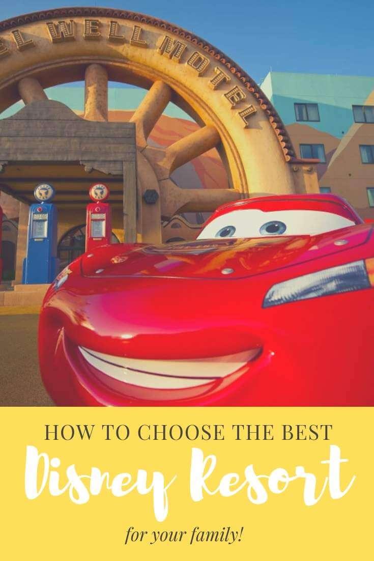 Choosing the best Disney World resort for your family