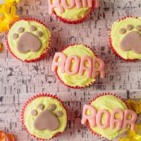 Lion King Birthday Party Cupcakes