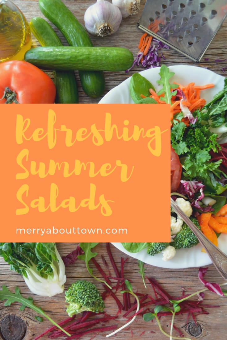 Refreshing summer salads for entertaining or every day.