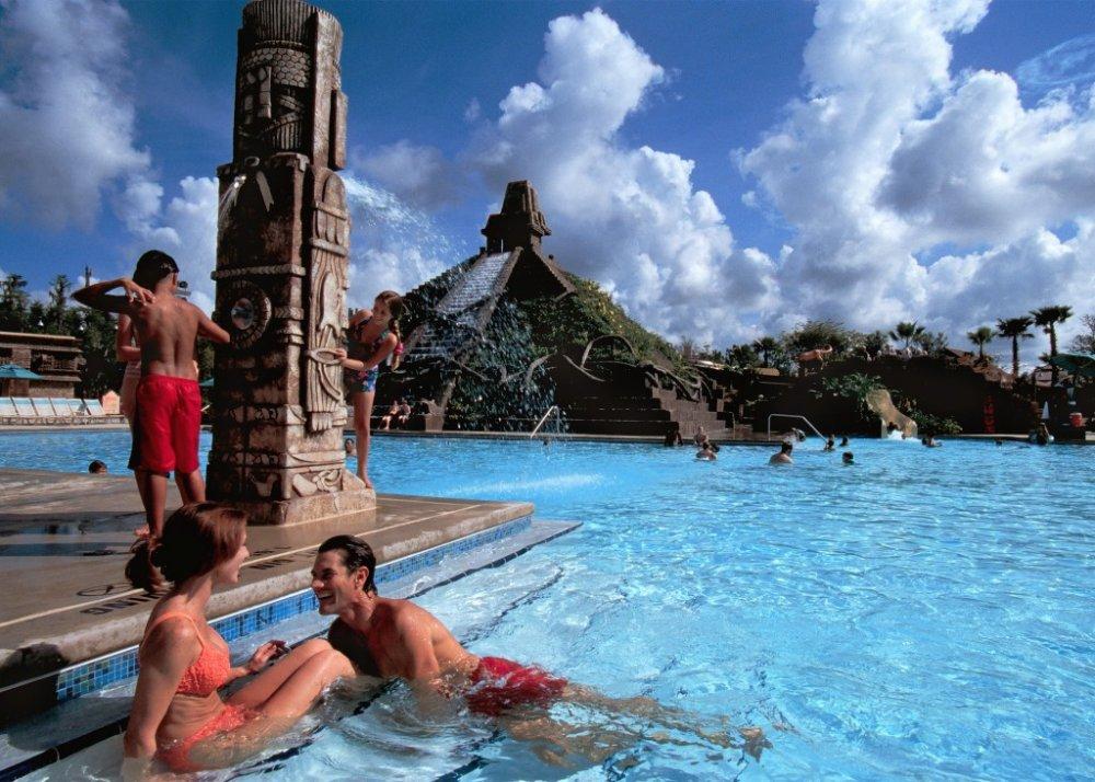 The pool at Disney's Coronado Springs