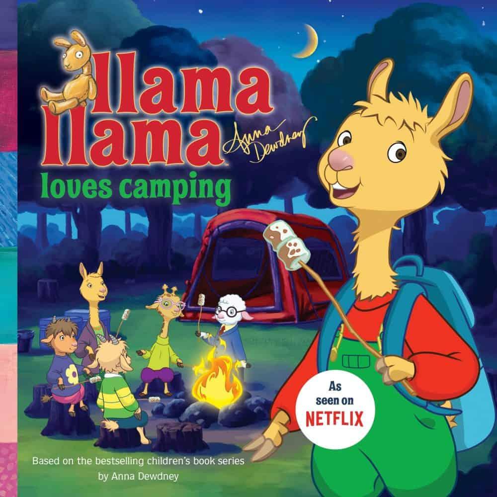 Llama Llama goes camping