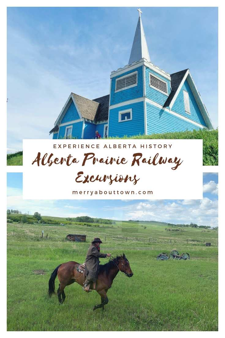 Take a trip back in town with Alberta Prairie Railway Excursions