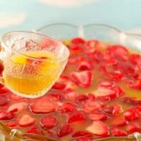 Sparking Strawberry Party Punch