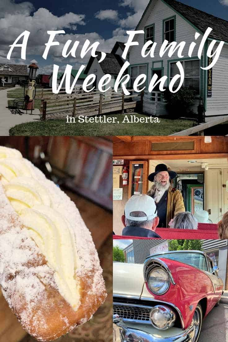 A fun, family Weekend in Stettler Alberta