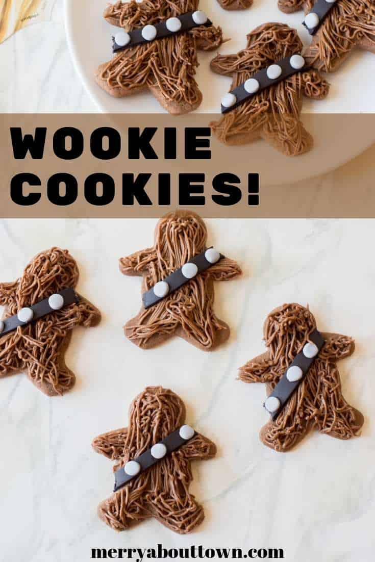 Wookie Cookies! A fun Star Wars themed treat