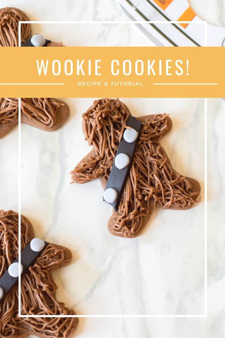 Chewbacca Cookies Tutorial