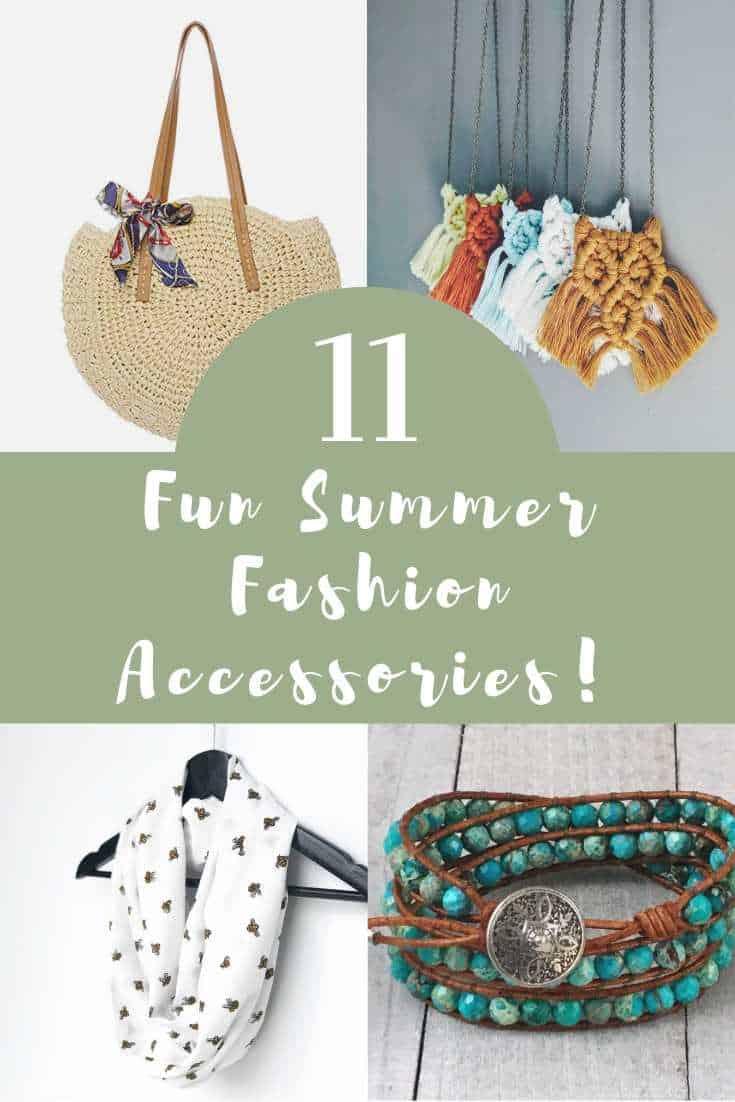 11 Fun Summer Fashion Accessories