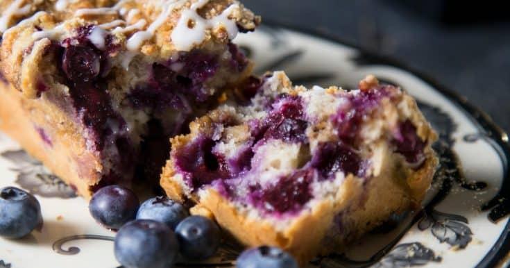 Blueberry and Walnut Cake