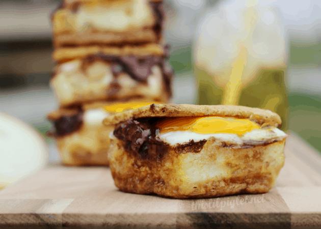 Campfire Recipes: Egg & Nutella S'mores