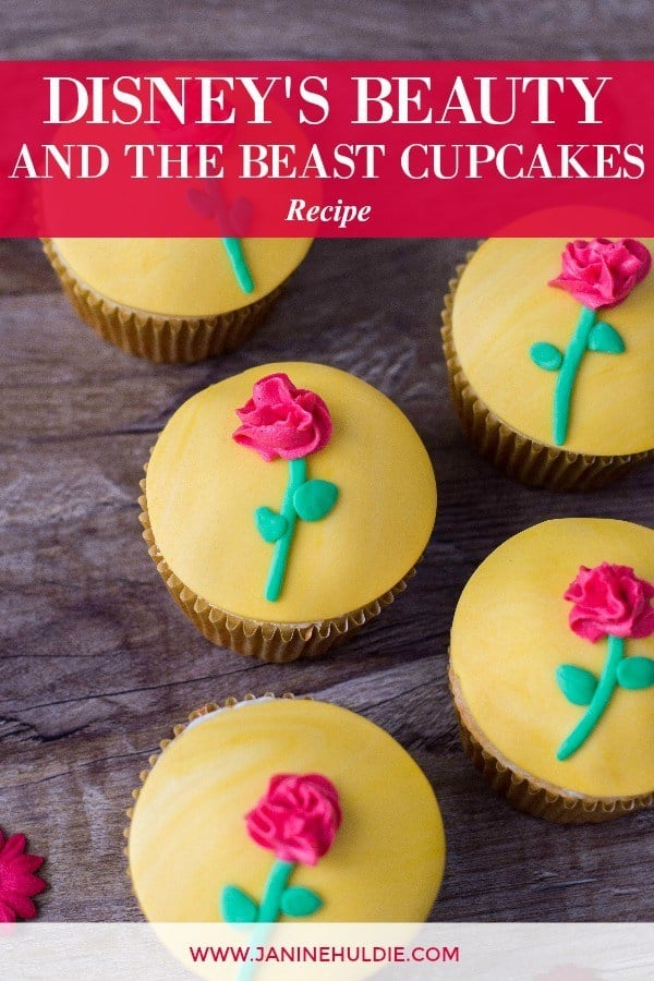 Disney's Beauty and the Beast Cupcakes Recipe Tutorial