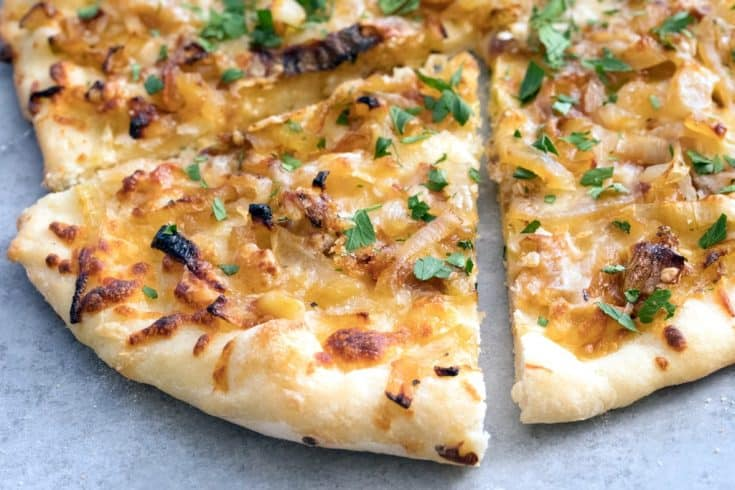 French Onion Soup Pizza