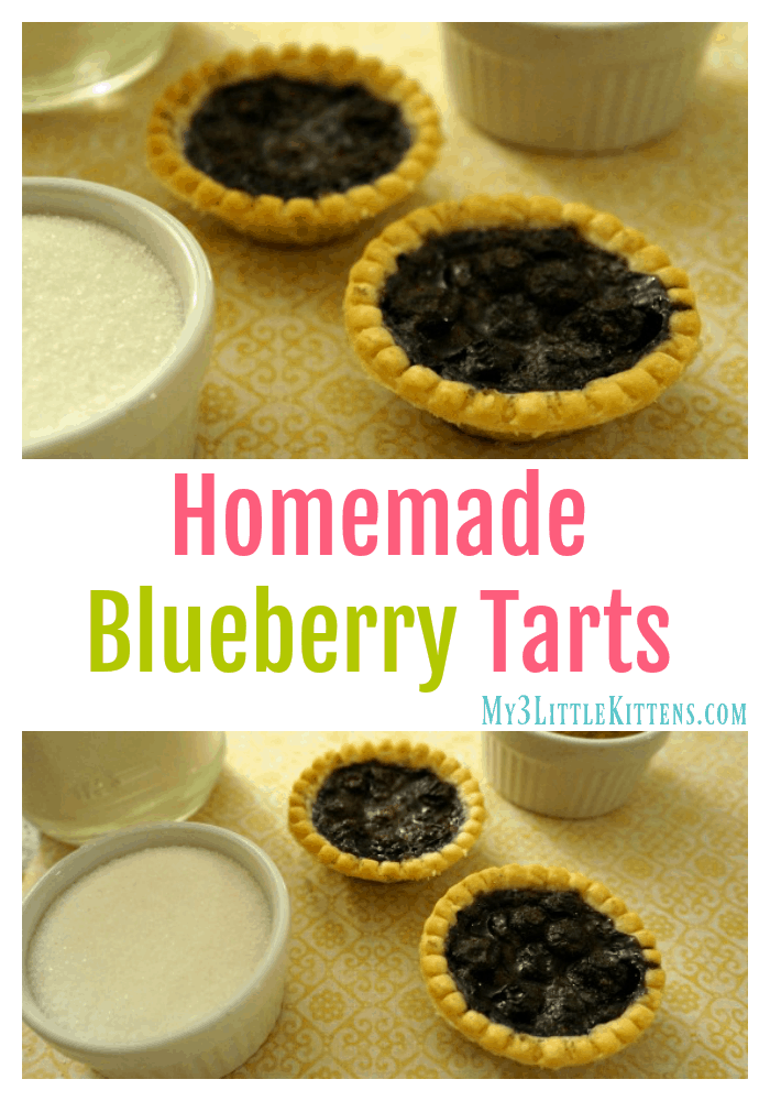 Homemade Blueberry Tarts