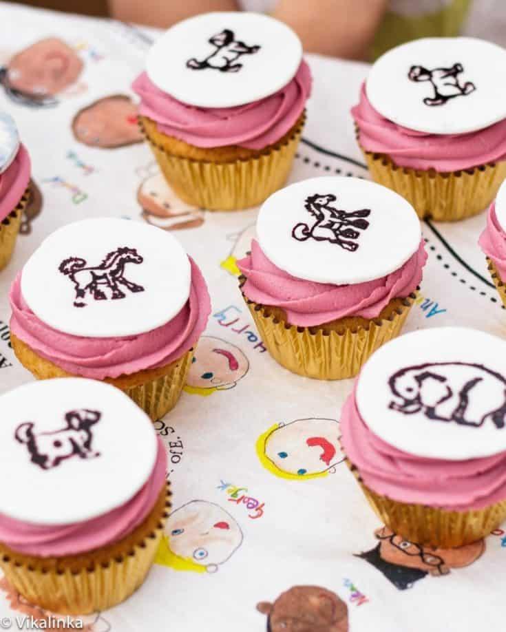 Wild Things Birthday Cupcakes