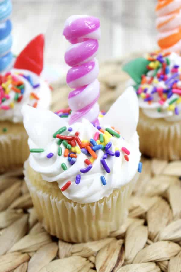 Kids Party Food! BEST Unicorn Cupcakes – EASY Unicorn Party Food Ideas